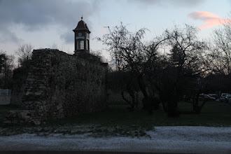 Photo: Pezinské hradby a veža požiarnej zbrojnice