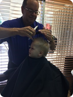 Henry's First Haircut