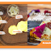 #micileplaceri Felii de ananas caramelizate cu rom și înghețată