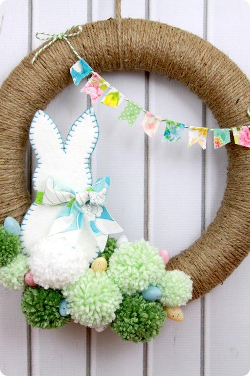 spring wreath lil luna
