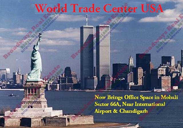 wtc chandigarh office space