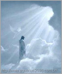 Jesus após sua ressurreição, ascendeu aos céus no paraiso em espírito.