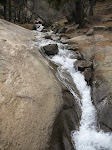 Here's the stream that feeds the Helen Hunt Falls