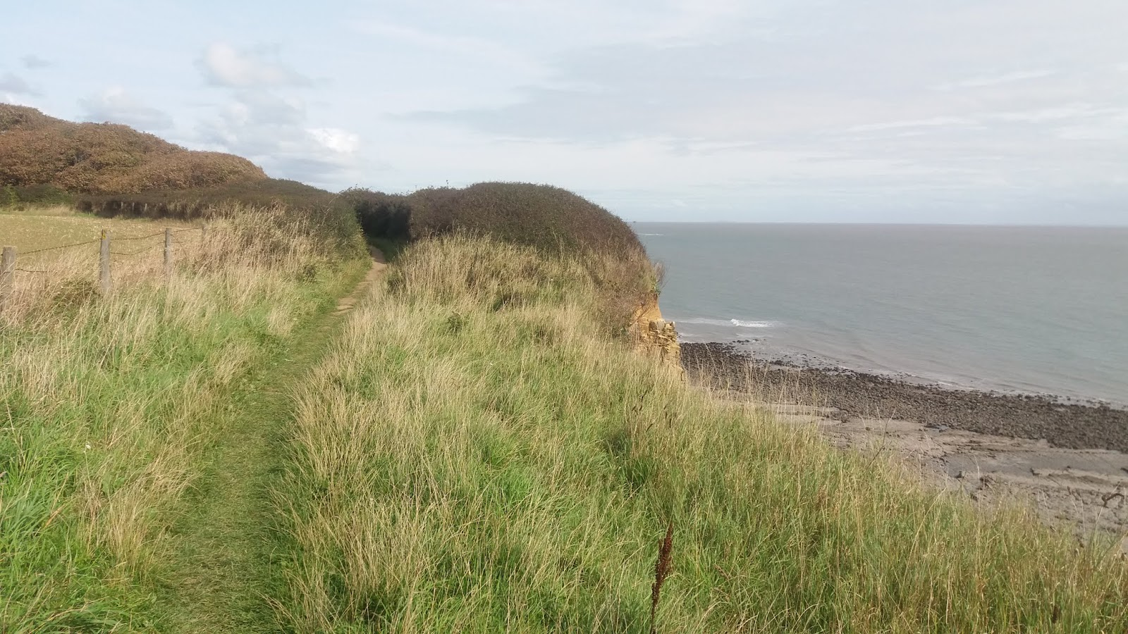 20170824 145545 Cliff top path to Nash Point