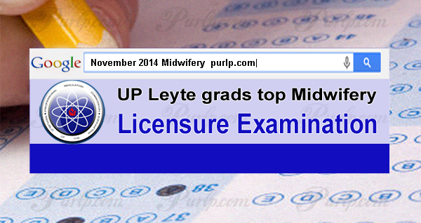 November 2014 Midwifery Licensure Exam Results