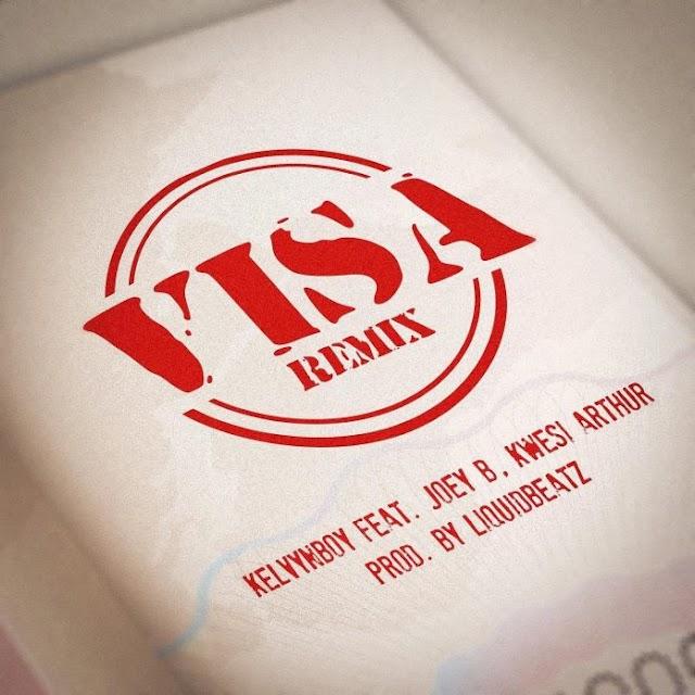 Joey B & Kwesi Arthur – Visa Remix LYRICS