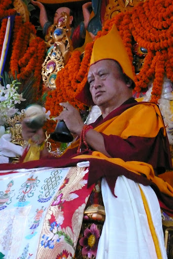 Long life puja, Kopan Monastery, Dec 2009.