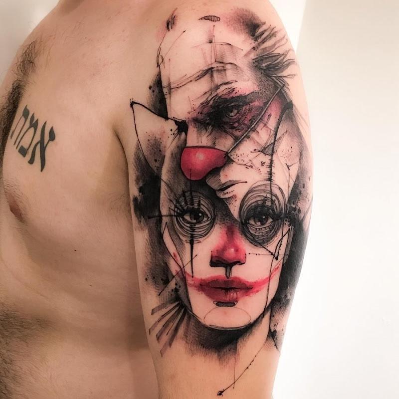 estes_cativante_palhaço_esboço_de_estilo_tatuagens