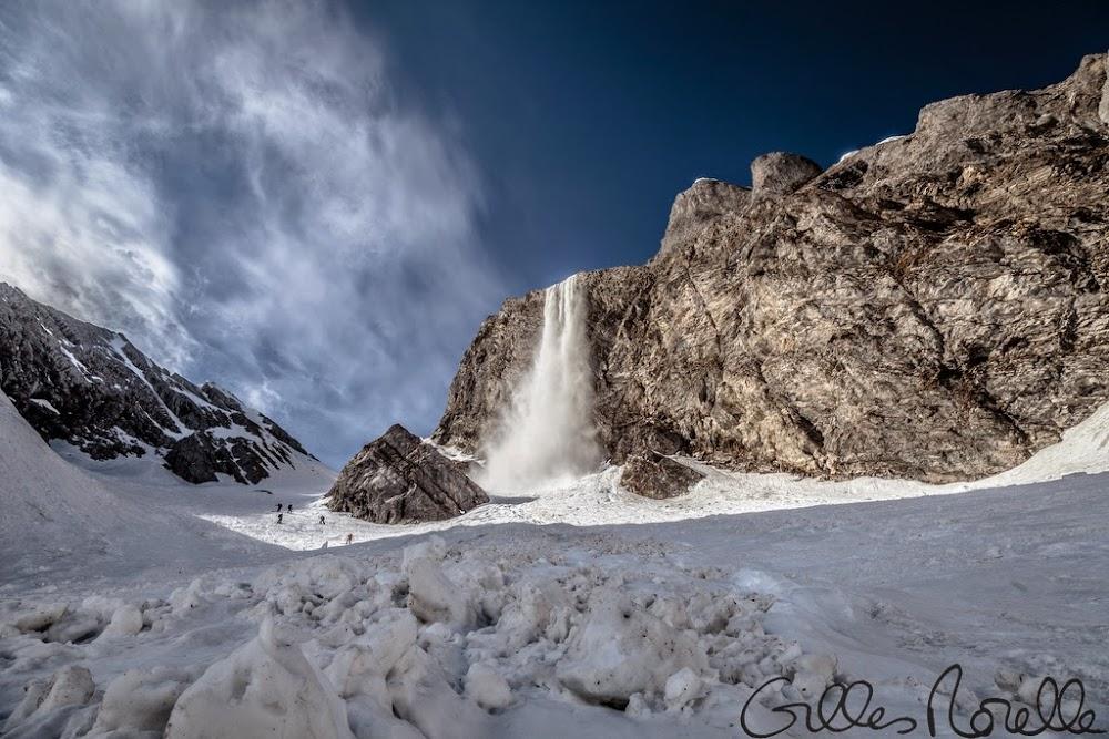 Avalanche Aravis, secteur Blonnière, Col des Aravis ; Combe à Marion - Photo 1