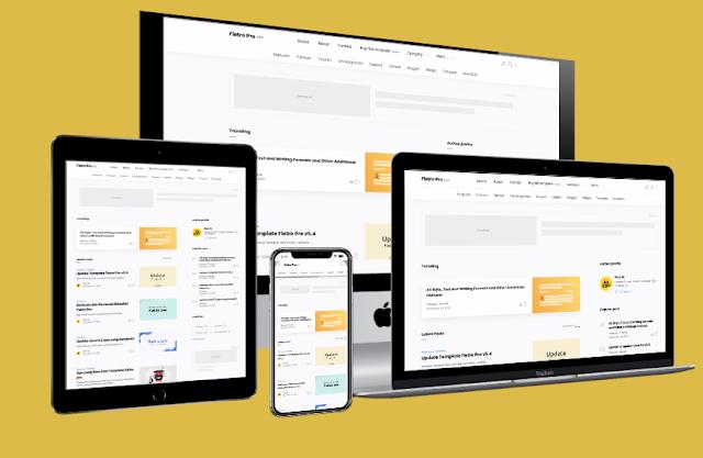 Fletro Pro v5.5 Premium Blogger Template Latest