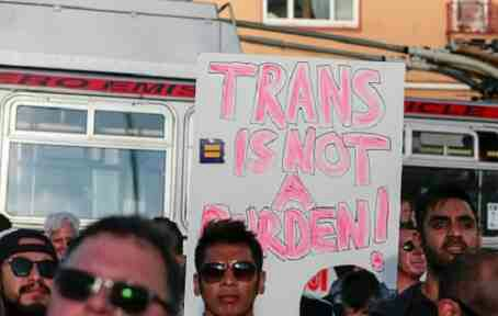 Furious Protests Erupt In NY ,DC & San Francisco After Trump Bans trans From Military
