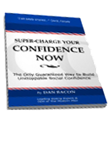 Cover of Dan Bacon's Book Super Charge Your Confidence Now