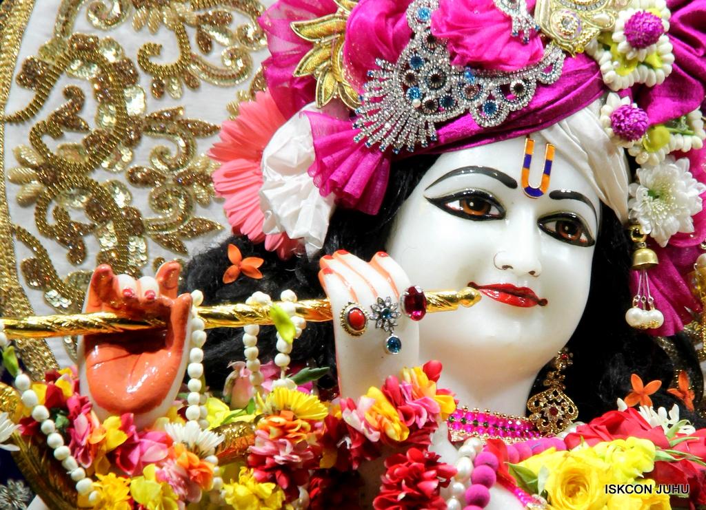 ISKCON Juhu Sringar Deity Darshan on 11th Sep 2016 (18)