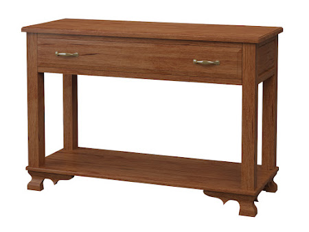 Prairie Sofa Table in Itasca Maple