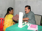 Dr.C.V.Lakshmanan treating the patient :: Date: May 15, 2007, 6:26 AMNumber of Comments on Photo:0View Photo