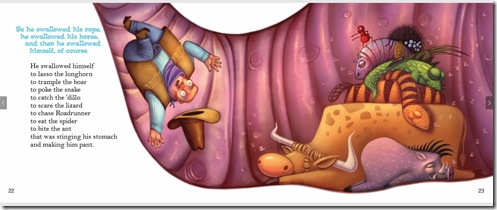 Cowpoke Swallowed Himself