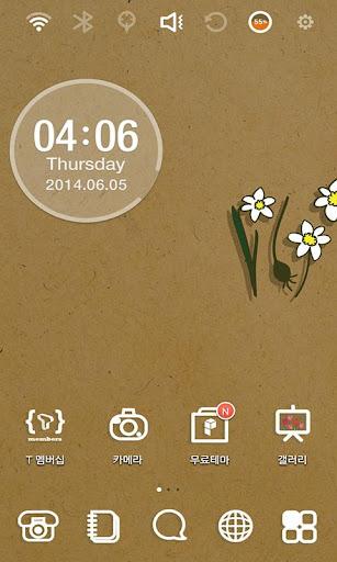 Gardening Daffodils Theme