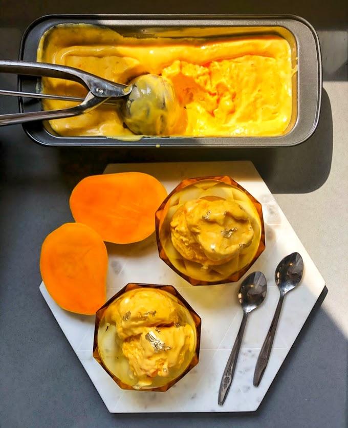 Homemade Mango Ice-cream Recipe | Breakfast Care
