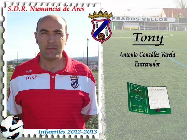 ADR Numancia de Ares. Toni.