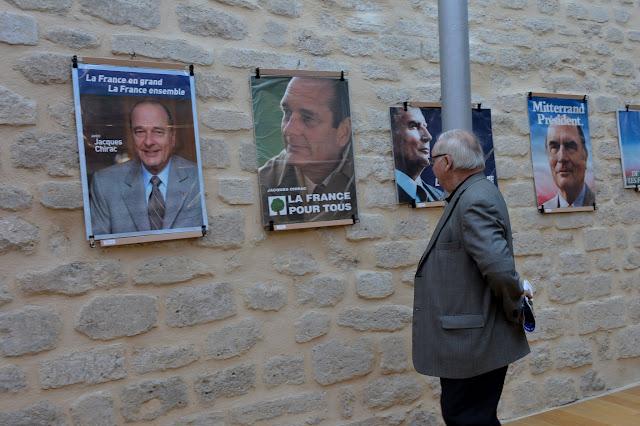 Mezzanine - Expo affiches élections présidentielles