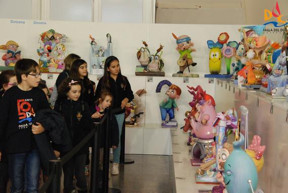 Visita a la exposición del Ninot