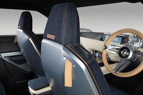 Nissan IDx Freeflow Denim Seats