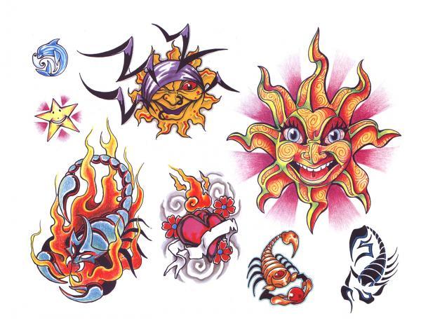Design Of Silent Tattoo 10, Fantasy Tattoo Designs