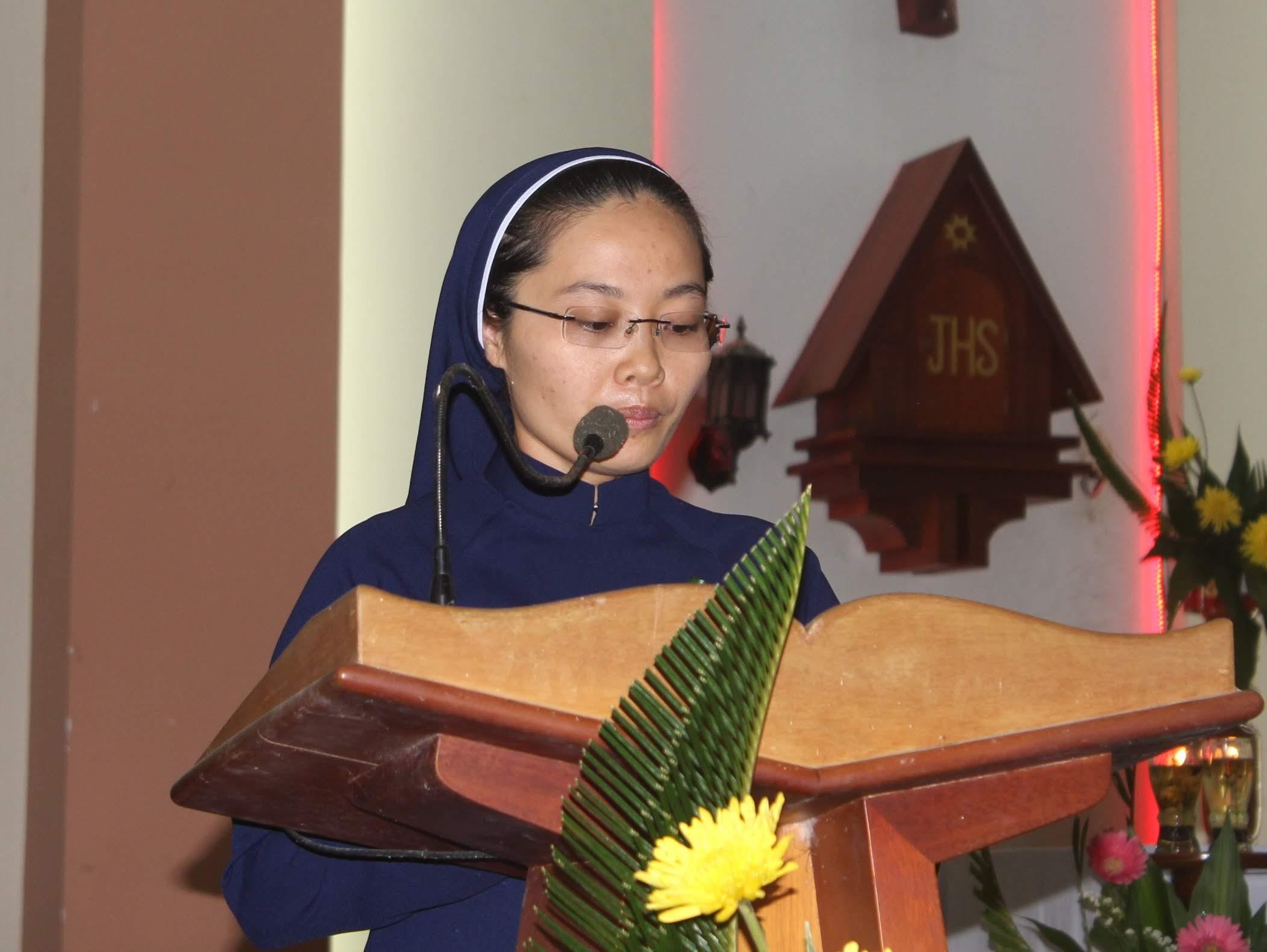 Lễ tạ ơn khấn dòng Sr Anna Hà My