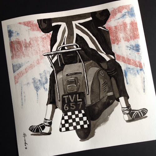 Cool Jerk - Capitols, Nikki Morris Northern Soul Art