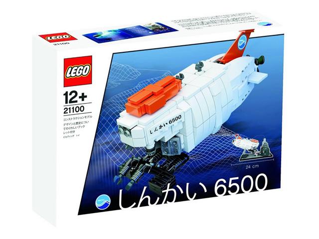 21100 レゴ しんかい6500