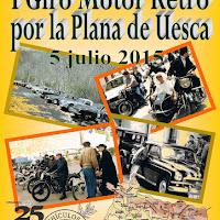 """2015/07 I GIRO MOTOR RETRO """"HOYA DE HUESCA"""""""