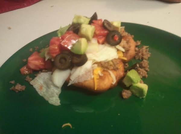 Indian Taco's Recipe