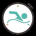 Swim time/pace/speed Calculator icon
