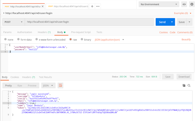 Postman API request and response image - Using postman like a pro