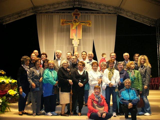 Il gruppo di sandonatesi alla celebrazione del Centenario
