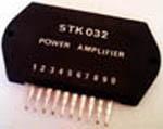 Sanyo STK032 AF 25W power amplifier