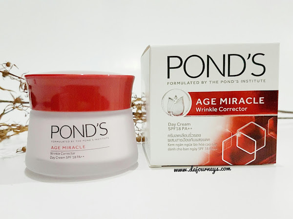 [Review] Ponds Age Miracle Wrinkle Corrector Day and Night Cream