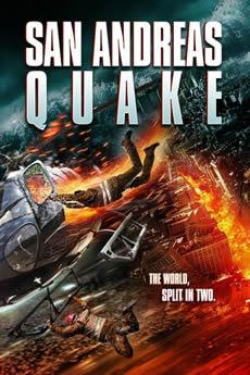 Capa San Andreas Quake (2015) Dublado Torrent