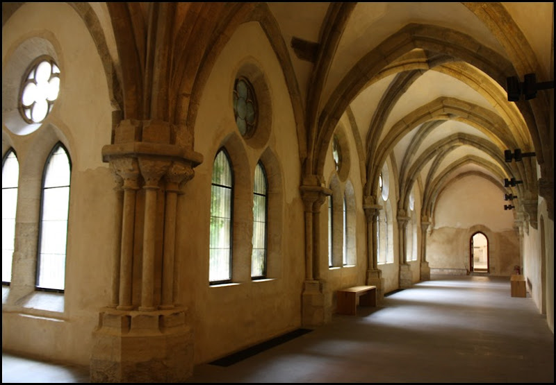 The Cloister at Saint Agnes of Bohemia