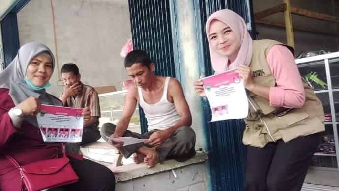 Relawan Demokrasi Pasaman Terus Berjuang untuk Peningkatan Partisipasi Pemilih di Tengah Pandemi