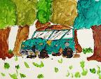 Junk Yard Cars by Brandon