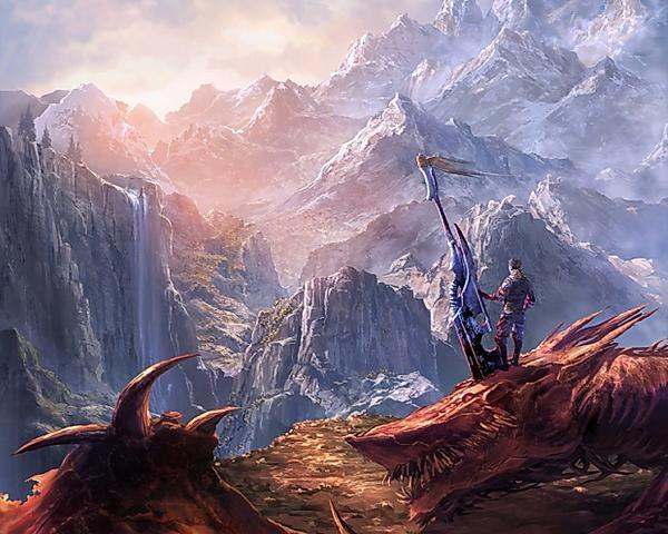 Dream Of Weird Lands, Magical Landscapes 6