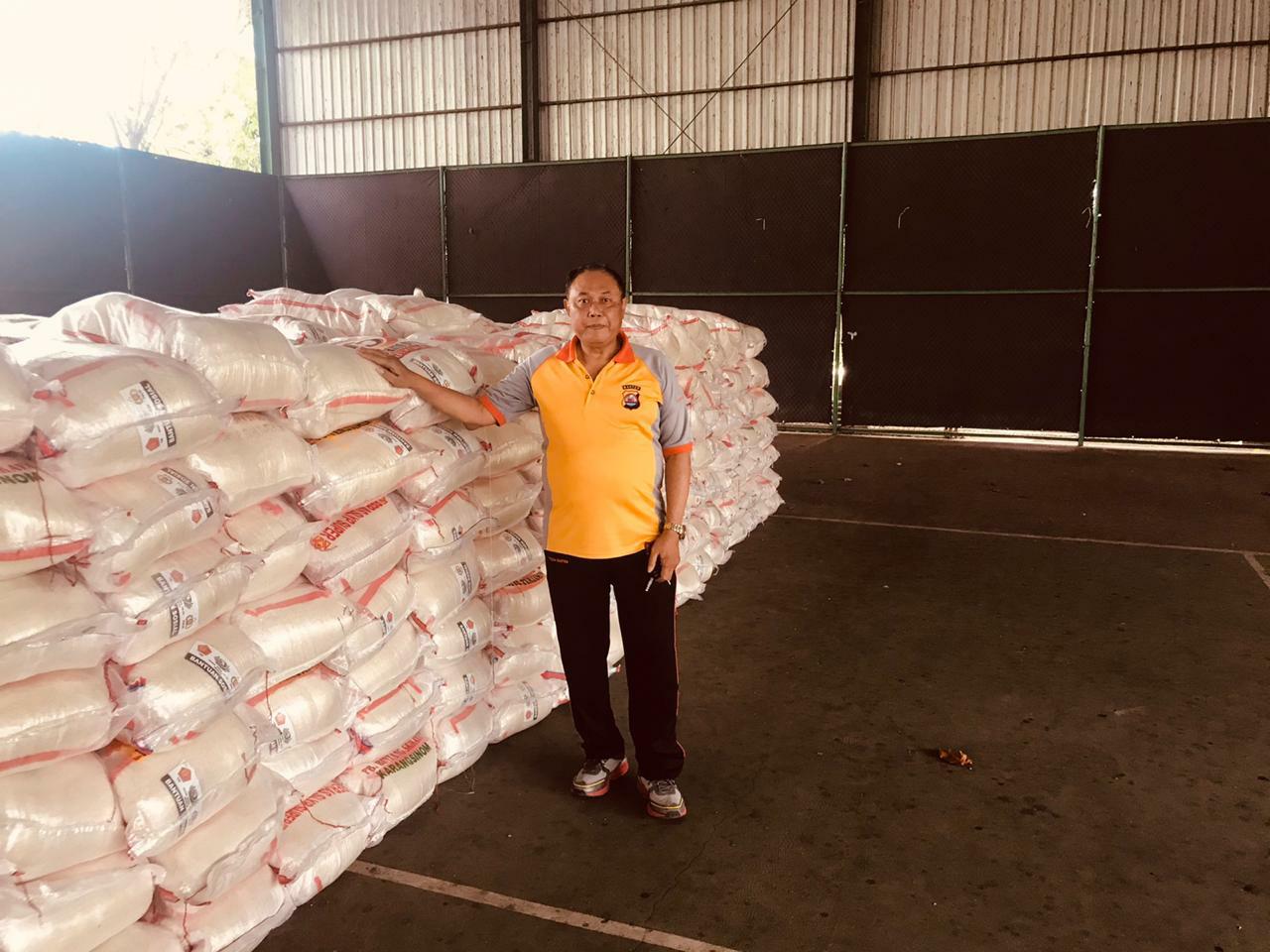 Peduli Pandemi Covid-19, Mabes Polri Salurkan 60 Ton Beras Bantu Masyarakat di Provinsi Banten