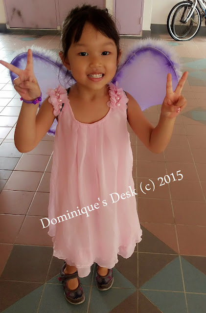 My Purple Winged Fairy