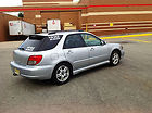 2003 subaru wrx 5 door silver very good condition low mileage