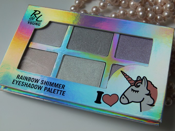 Rival de Loop young Rainbow Shimmer Eyeshadow Palette Unicorns