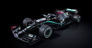 Mercedes introducing their new 2020 livery Black heart as a pledge to improve the diversity of their team.