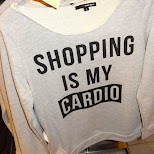shopping is my cardio in Den Haag, Zuid Holland, Netherlands