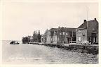 Oude Wetering. Boerenleenbank. Gelopen gestempeld in 1954.