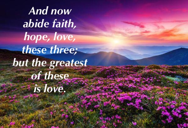 Image result for 1 corinthians 13:13
